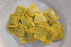 Ravioli. Man muss sie schon in Italien essen, um zu schmecken, wie lecker sie sein können.